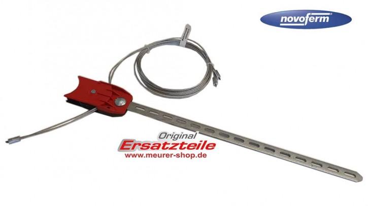 Novoferm ISO 20 / 45 Drahtseil, Zuseileinheit EVO15ZF HÖHE 2251 mm - 2375 mm