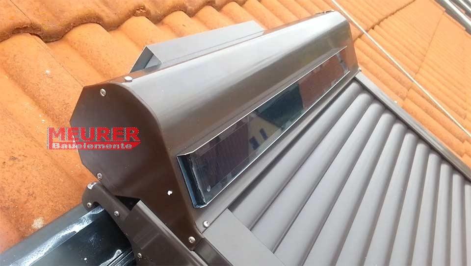 perfekte Qualität Abstand wählen zuverlässige Qualität Solar Außenrollladen für BRAAS- /DELTA Dachfenster