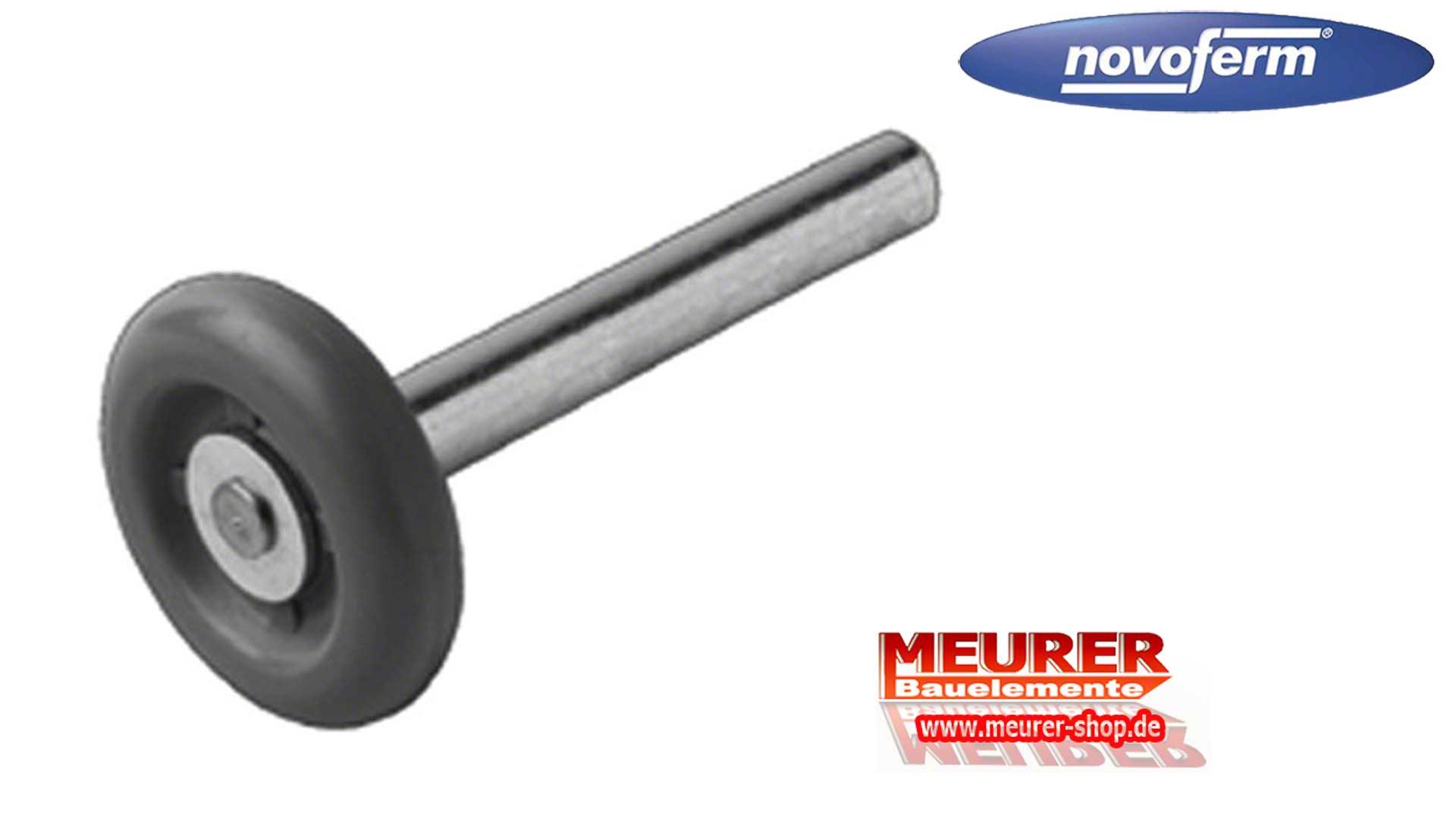 Laufrolle mit langer Achse Novoferm Sektionaltor Garagentor Ersatzteil 11200010