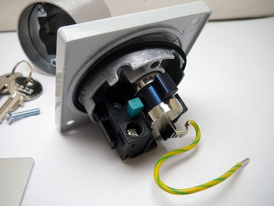 Relativ Schlüsseltaster 1-fach Signal 312 Unterputz-TM02010031332 / 80800112 KE29