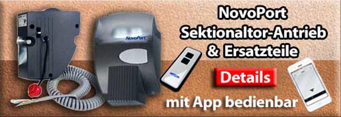 Novoferm Siebau NovoPort Garagentor Antrieb Ersatzteile