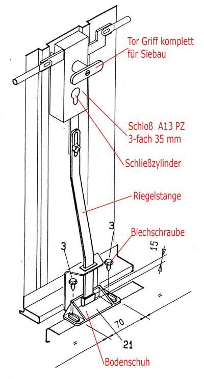 Gut gemocht Schloss Schließzylinder Novoferm/Siebau-80203000 10/30 PT11