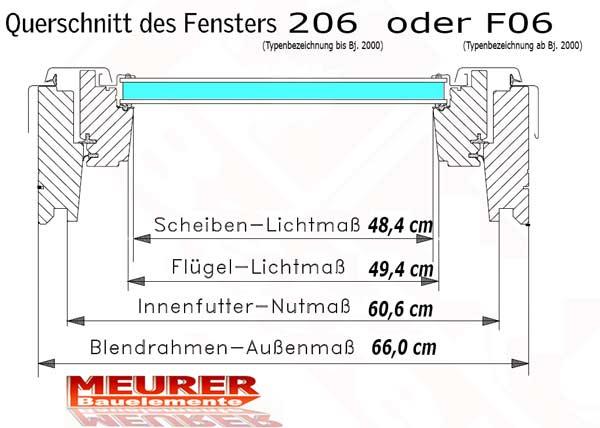 Dachflächenfenster maße  Rollladen Momentfeder, Velux Lange Version F023-F023 Lang