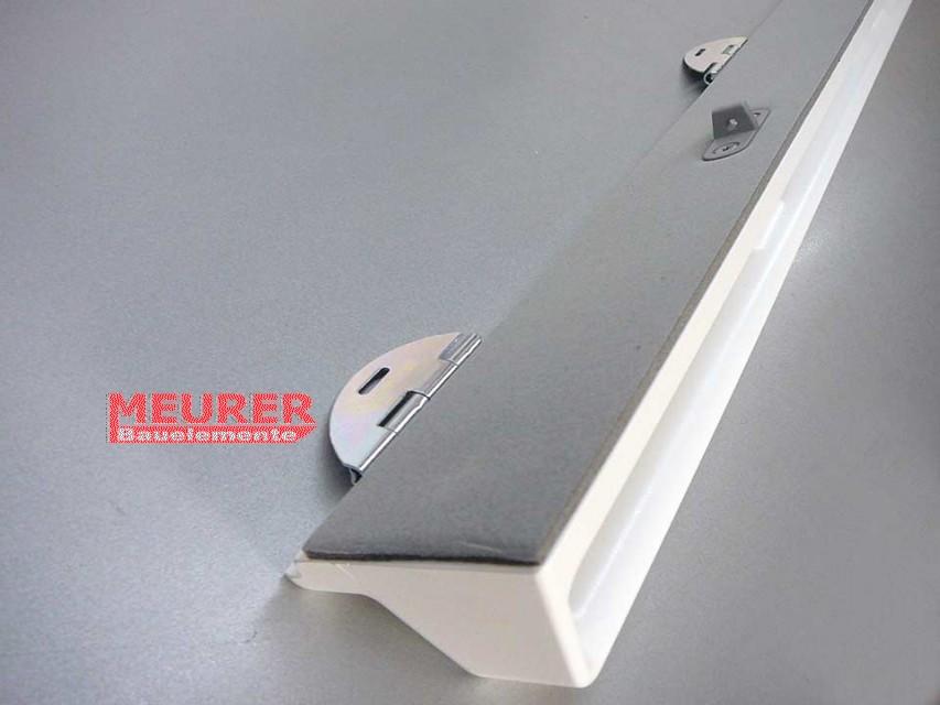 griffleiste l ftungsklappe f r velux ggu ghu gpu vu vku 1401 kunststoff. Black Bedroom Furniture Sets. Home Design Ideas