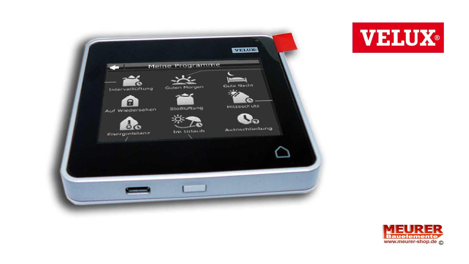 velux integra control pad klr 200 klr 200. Black Bedroom Furniture Sets. Home Design Ideas