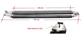 Nr. 01A Federpaket 3-Fach Siebau / Novoferm