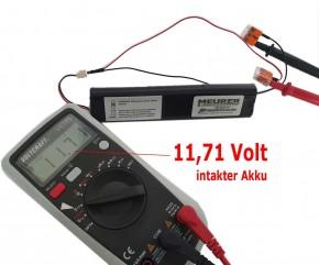 Ersatz Akku Velux SSL Solar Rollladen Motor mit Stecker 946933