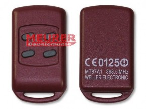 MT87A1 868,5 MHz Alulux Handsender