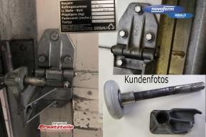 Laufrollenhalter, Lagerbock Rechts Siebau, Riexinger Industrie Sektionaltor