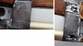 Griff-Konsolen Braun BK/BL für Braas Holz Klassik & Light Dachfenster