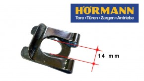 Hörmann Sektionaltor Federklammer Sicherung 14 mm