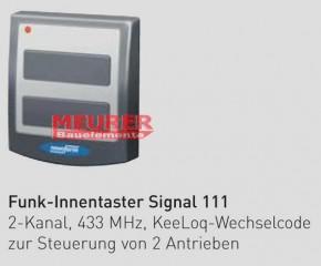 2-Kanal Funk Innentaster Signal 111 Novoferm