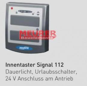 2-Kanal Innentaster Signal 112 mit Lichtfunktion Novoferm