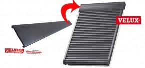 Kunststoffstreifen für Velux Rollladen Deckel F007
