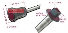 Rollladen Momentfeder, Velux  Lange Version F023