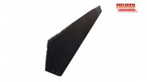 Braas Schaumstreifen schwarz selbst klebend keilfoermig
