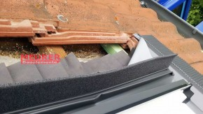 Moosgummi- Schaumstoff Streifen für Dachfenster Eindeckrahmen