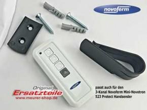 Novoferm Mini-Novotron 522 & 524 Handsender Wandhalterung Silikon