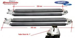 Nr. 7 Federpaket 3-Fach Siebau / Novoferm
