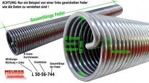 Torsions Feder 535 Sektionaltor R 50-70-1115