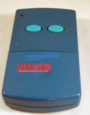 2-Kanal Novoferm Novomatic 401 Handsender Blau 27,045 MHz