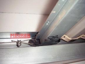 Gleiter, Oberer Schuh Polynorm Finish Doors Deckenlauftor