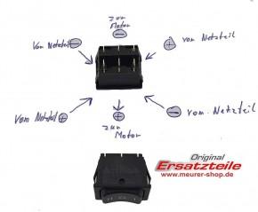 Polumkehr Schalter 2 Polig für alte Velux Motoren