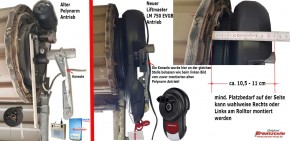 Liftmaster Rolltorantrieb LM 750 EVGB für Polynom und Finish Doors Garagentore
