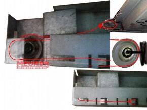 Drahtseil Ersatzteil für Polynorm, Finish Door Garagentor Deckenlauftor