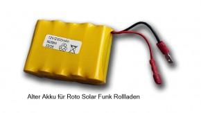 Ersatz Akku Roto Solar-Funk Rollladen RT2 SF (2x5)