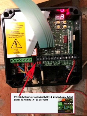 RTS20Q Rolltor Steuerung Dickert