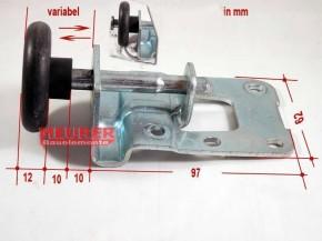 Laufrolle (Rollenbock) für Siebau Schwingtor