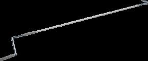 Nothandkurbel mit Haken 100 cm