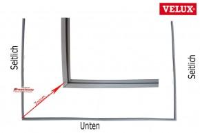 Velux Falz Dichtung 5800 GPU Kunststoff Dachfenster Ecken geschweißt
