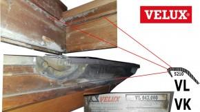 Velux Anschlagdichtung 5210 VL/VK Holz Dachfenster
