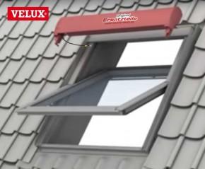 Velux SML Solar Rollladen Topkasten komplett mit Rollladenpanzer als Ersatz für Hagelschaden usw.