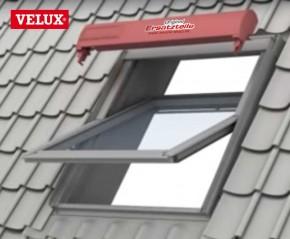Velux SSL Solar Rollladen Topkasten komplett mit Rollladenpanzer als Ersatz für Hagelschaden usw.
