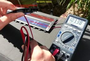 Solar Modul, Panel Velux SSL Rollladen ab Bj. 2013