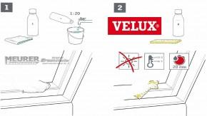 ZZZ 131 KA Lack-Pflege-Set für weiß lackierte VELUX Holzfenster
