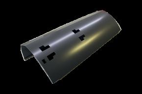 Rollladendeckel Velux mit Auststanzungen für Solar Modul