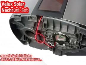 Solar Rollladen Akku, Motor, Velux Ersatzteil-Kitt ab Bj. 2012